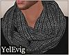[Y] Grey scarf M