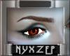 Orange Halloween Eye F