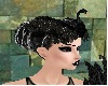 Black swan headress