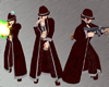 GothicMobster Ankleboots