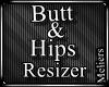 80% Smaller Hips & Butt