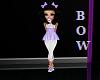 purple bows