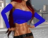 Bust Cobalt Blue Top