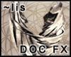 FX: Drapes [white gold]