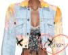 Fire Jean Jacket