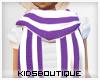 -Child Purple Scarve