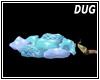 (D) Snow Pillows Blue