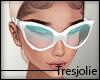 tj:. White Sunglasses