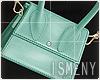 [Is] Mini Bag W - Aqua
