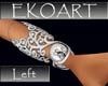 Diamond/silv bracelet L.