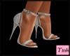 pez silver shoes
