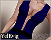 [Y] Moira blue dress