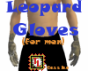 leopard gloves for men