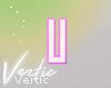 Letter U Sticker