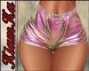 Shorts plasticos rosados