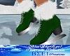 Ice Skate Green Ladies