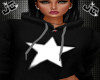 My Star Cropped Hoody