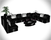 !Z! Black Couch Set