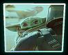 Neon Baby Yoda