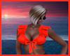 Cute Summer Top Kaos Red