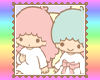 Little Twin Stars Stamp