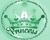 Kids Mint Princess Paci