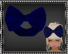 Sophi Navy Blue Hair Bow