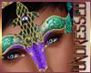 (A) Mardi Gras Mask