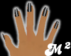 Black Metal Nails