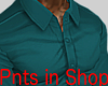 Smart Tight Shirt Green