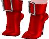 UNIQUE SHORT RED BOOTS