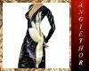 !ABT Flowers Black Dress