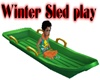 Winter Sled play