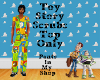 Toy Story Scrubs Top