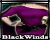 BW| Violet Baggy Dress