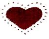 Val Rug heart kiss