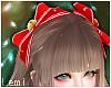 LM:Santa hair ribbon