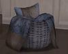 LKC Blue Night Basket