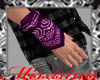 Hand Bandana Purple