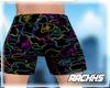 neon bxpe shorts