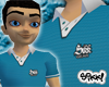 Sikk Polo: Teal Blue