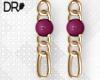 DR-  Beta earrings