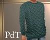 PdT Irish Pine Sweater M