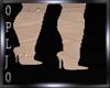Beige-Boots