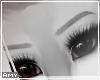 f Grey eyebrows