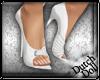 DD Bridal Heels White