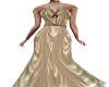 Elena Gold Gown