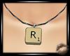 💋Scrabble Tile R (F)
