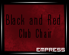 ! Black and Red Chair V1