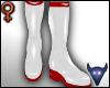 PVC Nurse boots wht (f)